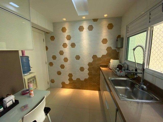 AB132 - Apartamento com 03 suítes/ vista lagoa/ fino acabamento - Foto 6