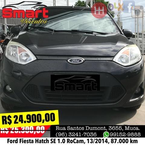 Smart Veículos - Ford Fiesta Hatch SE 1.0 RoCam, 13/2014, 87.000 km