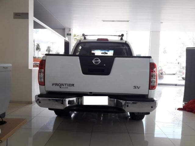 Nissan Frontier 2014 2.5 sv attack 4x4 cd turbo eletronic diesel 4p manual - Foto 5