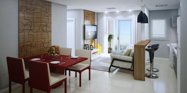 Lindo apartamento no santo antonio | 02 dormitórios | sacada com churrasqueira - Foto 7