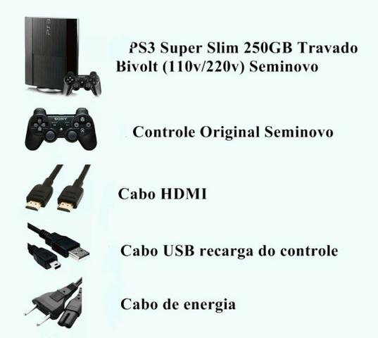 PS3 Superslim original - Foto 3