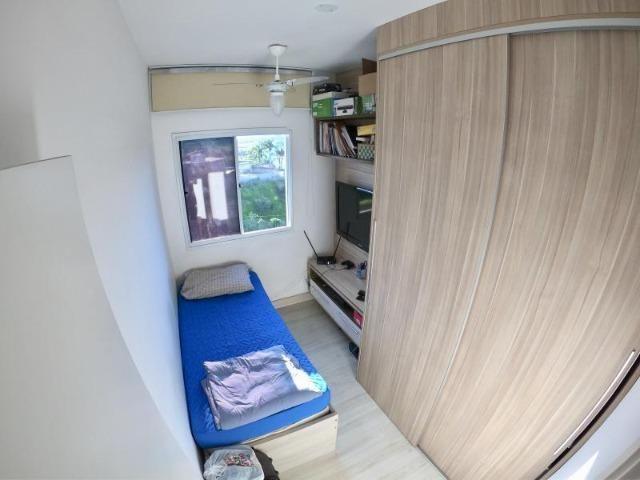 Lindo Apartamento 3 Quartos com Suíte Montado no Condomínio Villaggio Manguinhos - Foto 8