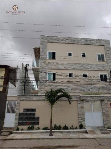 Apartamento com 2 dormitórios para alugar, 40 m² por R$ 500,00/mês - Serrinha - Fortaleza/
