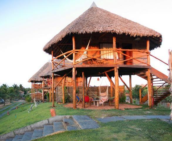 Bangalôs de madeira