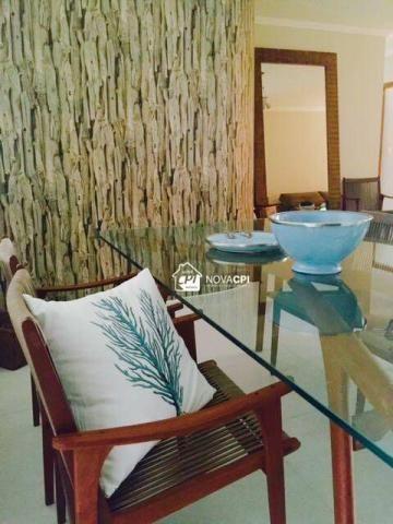 Apartamento para alugar, 123 m² por r$ 4.000,00/mês - aviação - praia grande/sp - Foto 3