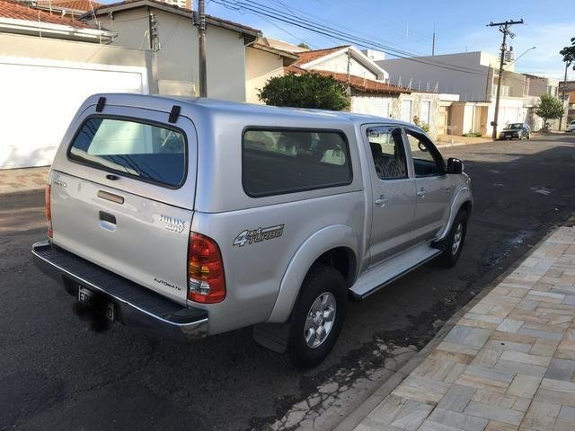 Hilux 2008 Automática Diesel 4x4 - Foto 4