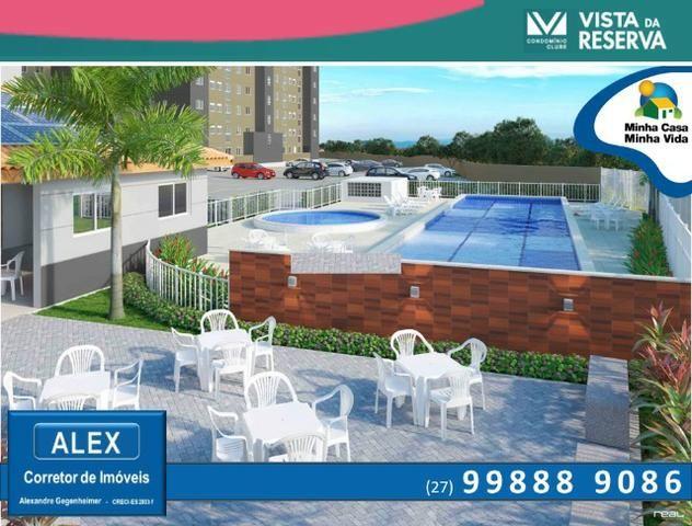 ALX - 46 - Apartamento com 3 Quartos - Entrada Parcelada em 60 meses - Vista da Reserva - Foto 3