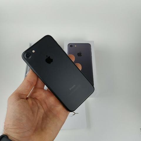 Iphone 7 Preto 128GB! Acessórios + Garantia - Foto 3