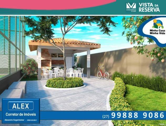 ALX - 46 - Apartamento com 3 Quartos - Entrada Parcelada em 60 meses - Vista da Reserva - Foto 11