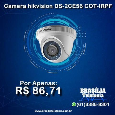 Câmeras de segurança Hikvision