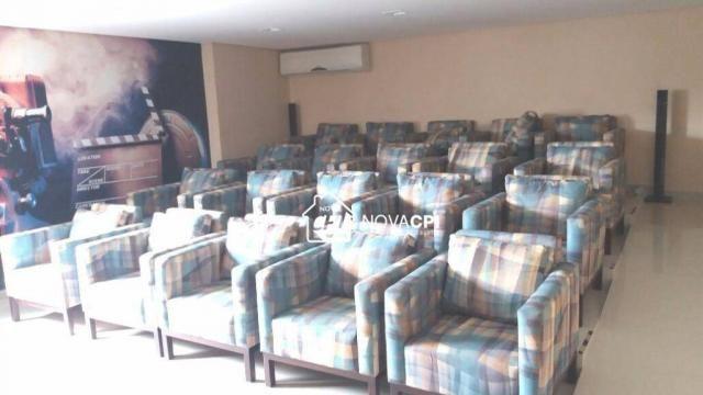 Apartamento para alugar, 123 m² por r$ 4.000,00/mês - aviação - praia grande/sp - Foto 9
