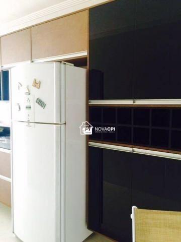Apartamento para alugar, 123 m² por r$ 4.000,00/mês - aviação - praia grande/sp - Foto 4