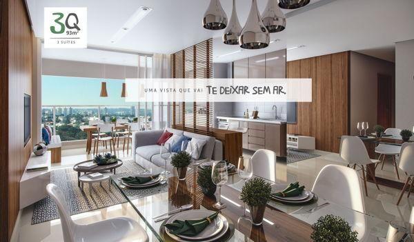 Apartamento  com 2 quartos no Varandas do Parque - Bairro Jardim Atlântico em Goiânia - Foto 2