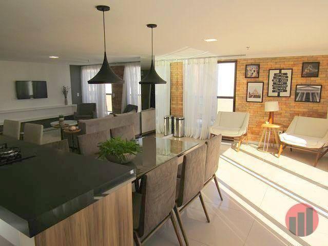 Apartamento com 3 dormitórios para alugar, 92 m² por R$ 2.100/mês - Papicu - Fortaleza/CE - Foto 13