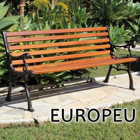Banco de Jardim e praça Modelo Europeu - Foto 3