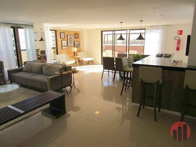Apartamento com 3 dormitórios para alugar, 92 m² por R$ 2.100/mês - Papicu - Fortaleza/CE - Foto 12