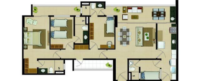Marbella Home Club, Novo, 110m2, 3 Suítes, DCE, 2 Vagas e Lazer Completo. - Foto 19