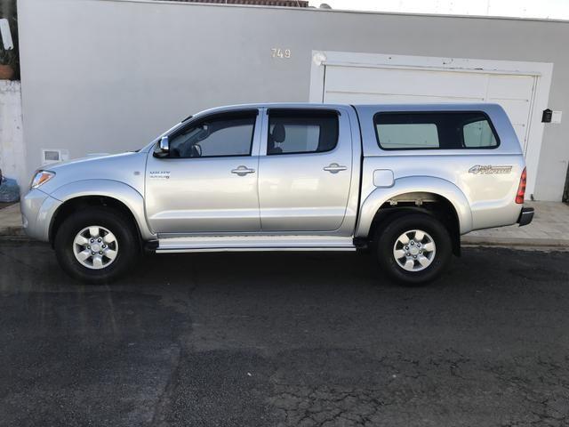 Hilux 2008 Automática Diesel 4x4