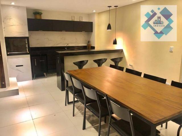 Apartamento com 3 dormitórios à venda, 127 m² por R$ 429.000 - Engenheiro Luciano Cavalcan - Foto 12