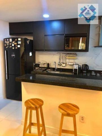 Apartamento com 3 dormitórios à venda, 127 m² por R$ 429.000 - Engenheiro Luciano Cavalcan - Foto 13
