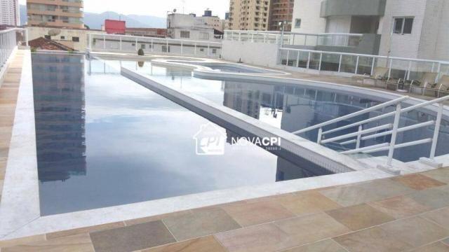 Apartamento para alugar, 123 m² por r$ 4.000,00/mês - aviação - praia grande/sp - Foto 8
