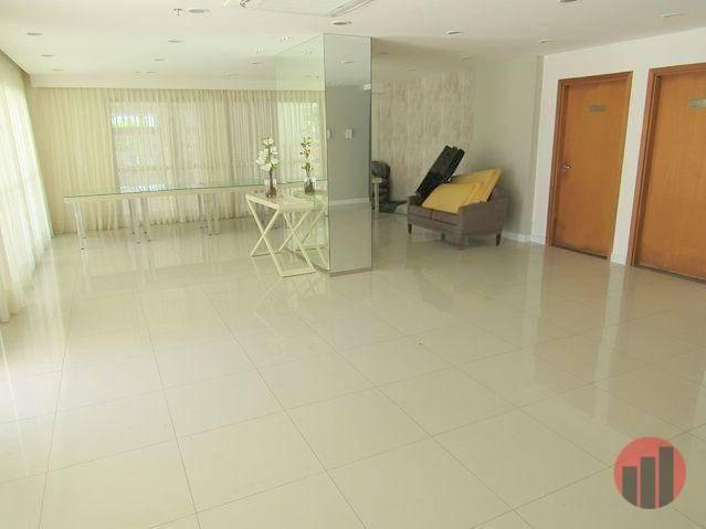 Apartamento todo mobiliado com 2 dormitórios para alugar, 57 m² por R$ 2.000/mês - Cidade  - Foto 10