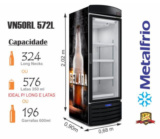 Cervejeira Porta de Vidro Vn50 Metalfrio