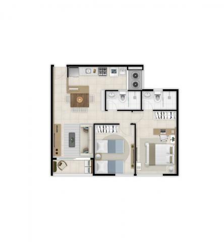 Apartamento à venda com 2 dormitórios em Benfica, Fortaleza cod:DMV10 - Foto 15