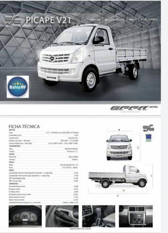 Effa v21 2020/2021 1.3 16v gasolina cs manual - Foto 2