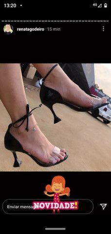 Sandálias luxo