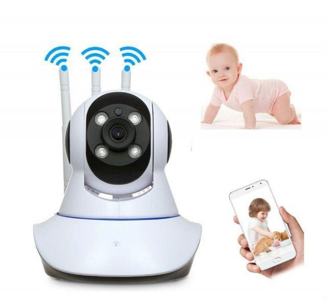 Camera Wifi 3 Antenas