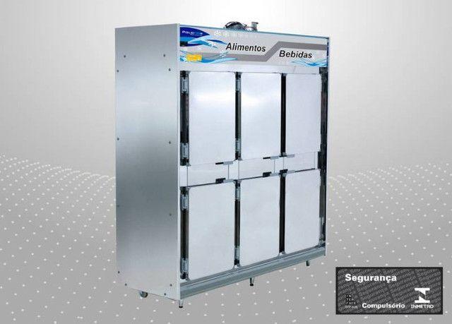Geladeira Refrigerador Frost Free Inox 4 ou 6 portas PoloFrio - Foto 2