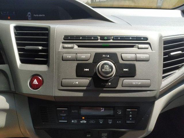 Civic lxs 1.8 automático flex 2013 - Foto 12