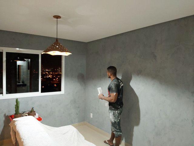 Sousa pintura pintor 3d gesso sêmi brilho mármorizado  - Foto 5