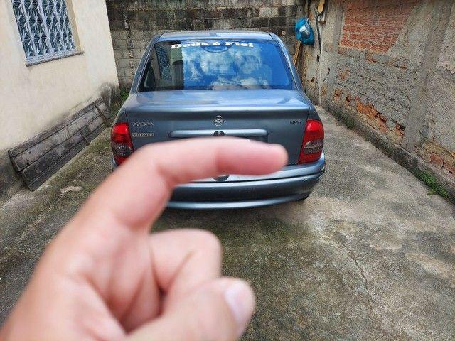 Corsa sedam 2001 1.0 8V com GNV e AR.  - Foto 8