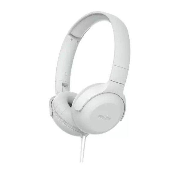 Fone de Ouvido Com Fio Philips TAUH201 Branco, Lacrado.