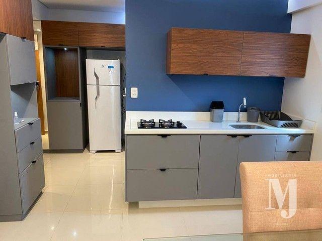 Apartamento com 1 dormitório para alugar, 38 m² por R$ 3.500/mês - Boa Viagem - Recife/PE - Foto 13