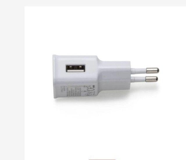 Adaptador Fonte Carregador de Tomada Plug Usb 5V 2A Bivolt Universal R$ 15,00 - Foto 3