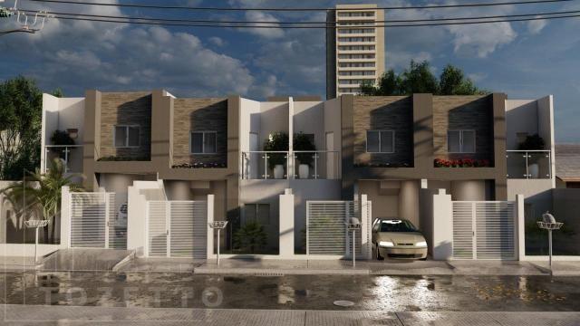 Sobrado para Venda em Ponta Grossa, Oficinas, 2 dormitórios, 2 suítes, 3 banheiros, 1 vaga