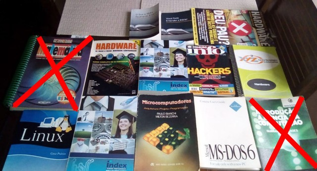 Doação Livros e Apostilas - Foto 2