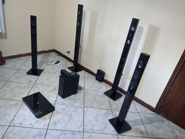 Home Cinema System (5.1 Qualidade e Volume Excelente)