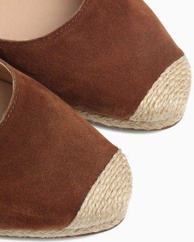 Alpargata Lace Up Camurça Shoes, N°36 - Foto 4