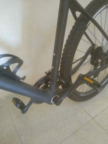Bike fibra de carbono fosco miracle, tam 21' aro 29' - Foto 3