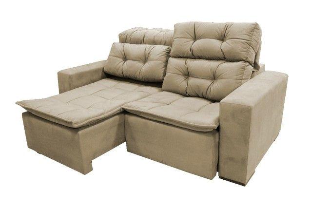Sofá retrtátile reclinável 1,80 sochi - Foto 2