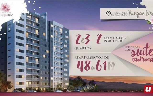 Jardim das Cerejeiras / Apt. 48 m2 no Parque 10 !