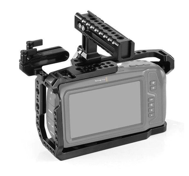 Cage Smallrig Blackmagic Pocket 4k E 6k Kit + Ssd E Handle - Foto 6
