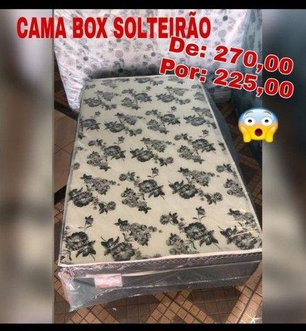 cama box casal solteiro - Foto 5