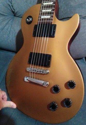 Guitarra Gibson Les Paul LPJ gold top. - Foto 3