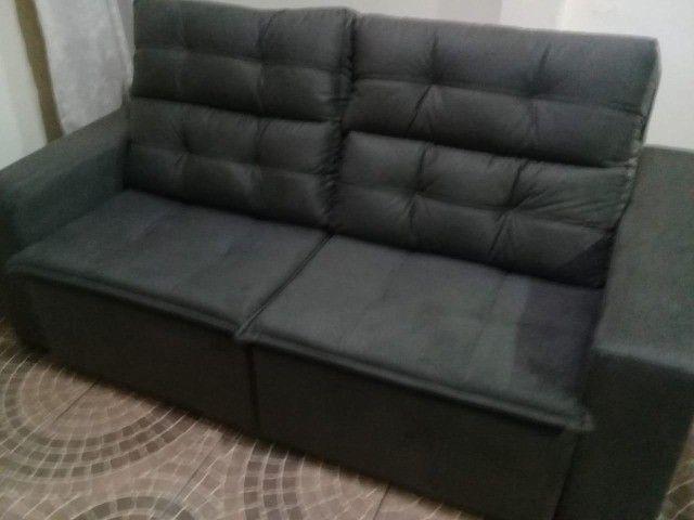Sofá retrtátile reclinável 1,80 sochi - Foto 4