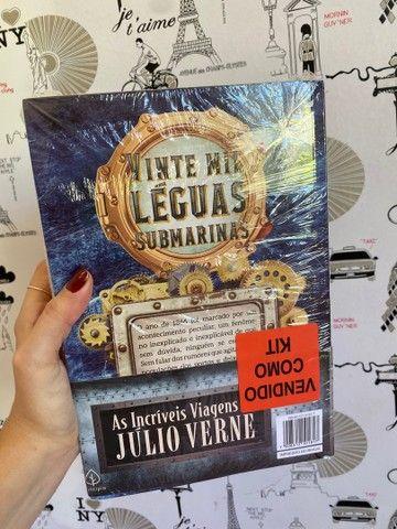 Box (3 livros) - as incríveis viagens de Júlio Verne - Foto 3